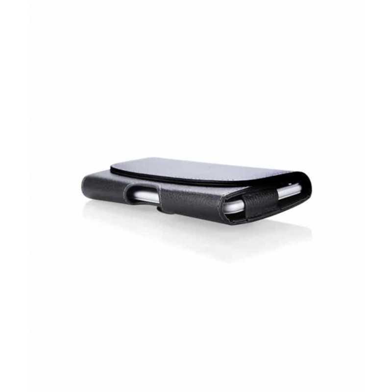 Etui ceinture noir iPhone X / XS