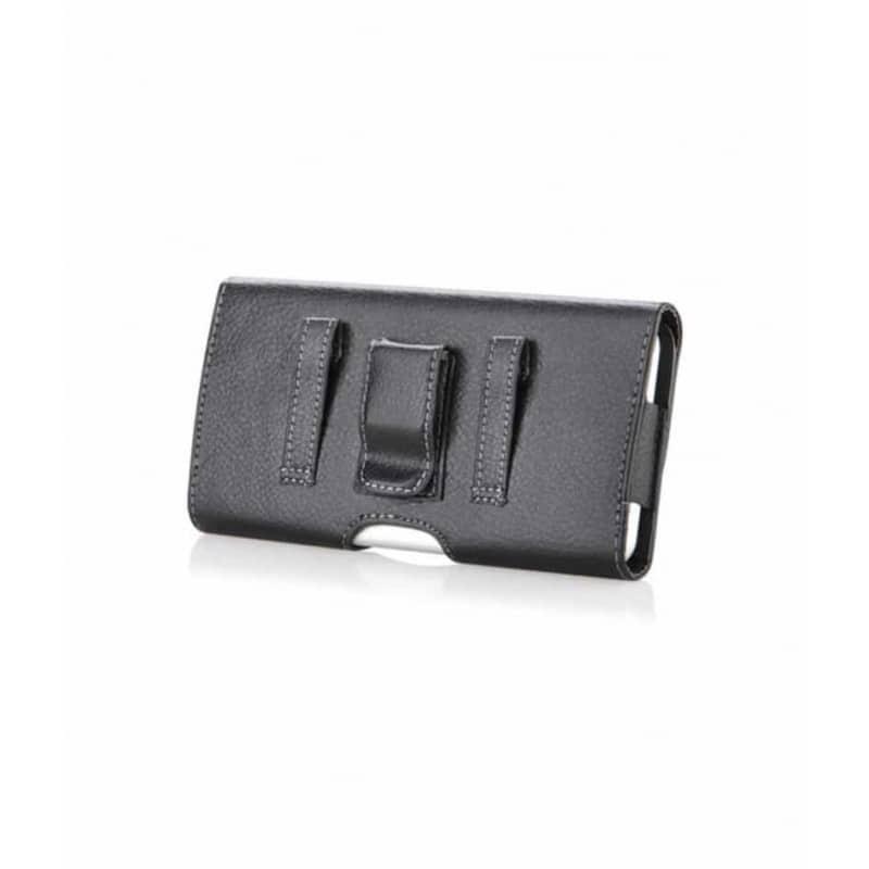 Etui ceinture noir pour iPhone 12