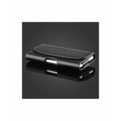 Etui ceinture noir iPhone 12