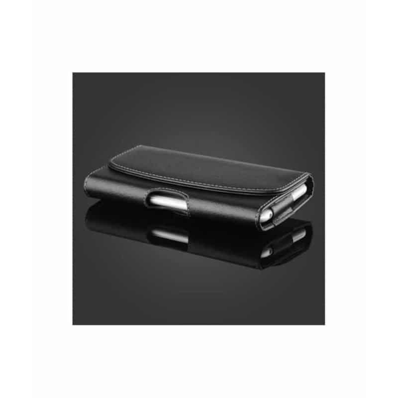 Etui ceinture noir pour iPhone 12 pro