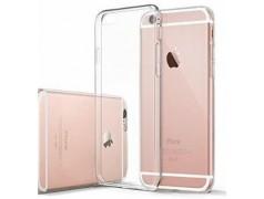 Coque silicone souple transparente pour iPhone 6+