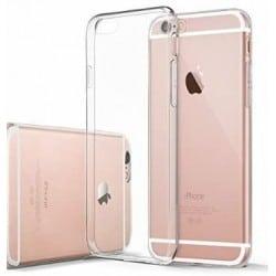 Coque silicone souple transparente pour iPhone 7