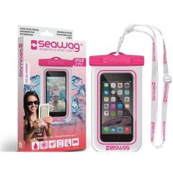 Pochette SEAWAG Waterproof rose universelle pour smartphone