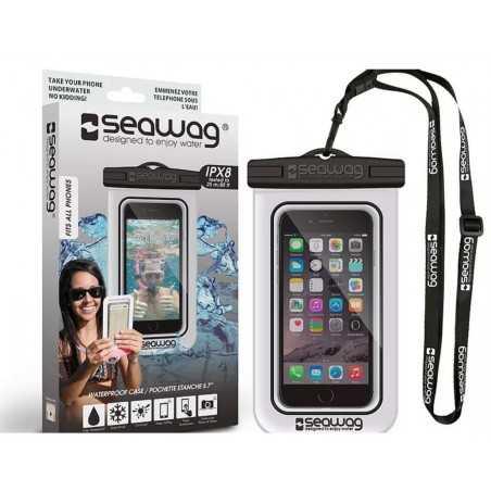 Pochette SEAWAG Waterproof noir/blanc universelle pour smartphone