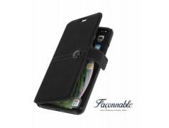 Etui FACONNABLE noir pour iPhone 7+/ 8+
