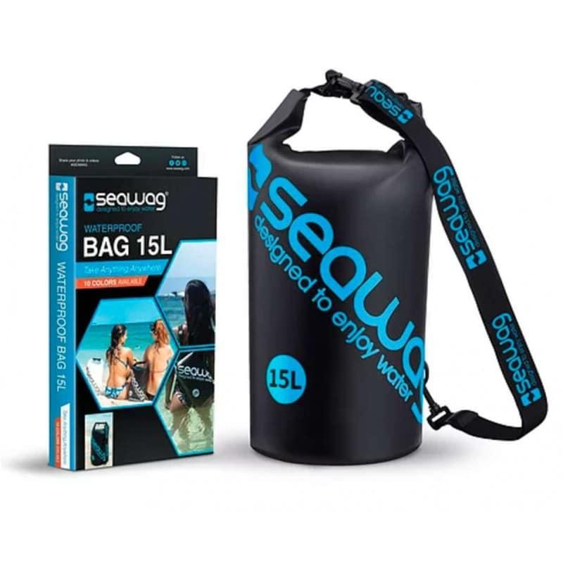 Sac étanche SEAWAG waterproof de 15 Litres Noir et Bleu