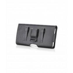 Etui horizontal noir pour iPhone 5/ 5S/ 5C/ SE