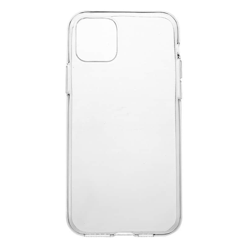 Coque silicone souple transparente pour iPhone 11