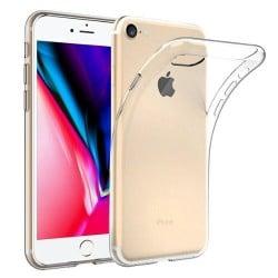 Coque silicone souple transparente pour iPhone 5/ 5S/ SE