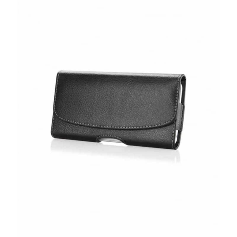 Etui ceinture noir pour iPhone SE 2020
