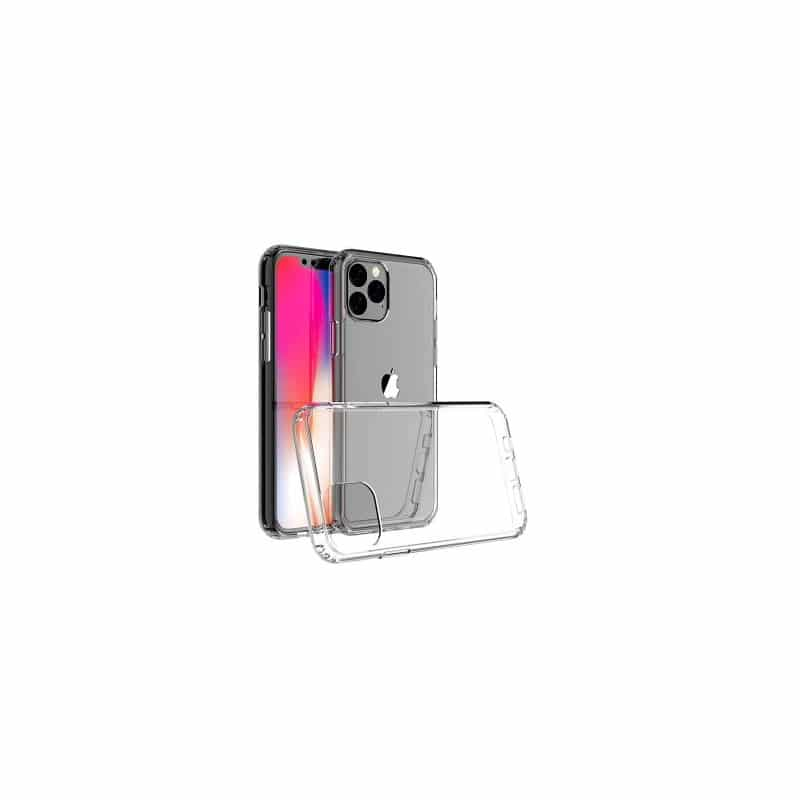 Coque silicone souple transparente pour iPhone 11 Pro max