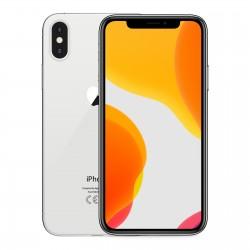 Coque silicone souple transparente pour iPhone X