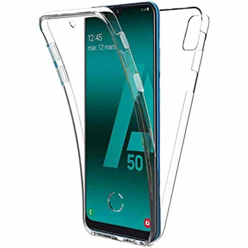 Coque intégrale 360 pour Samsung Galaxy A50