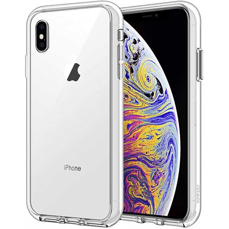 Coque silicone souple transparente pour iPhone Xs Max