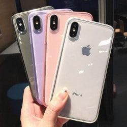 Coque silicone souple transparente pour iPhone Xr