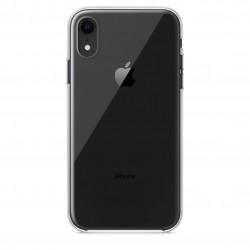 Coque silicone souple transparente iPhone Xr