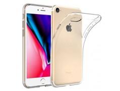 Coque silicone souple transparente pour iPhone 7+