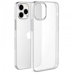 Coque silicone souple transparente pour iPhone 12 mini