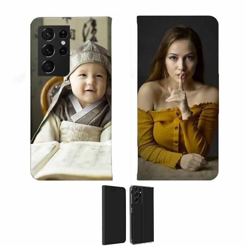 Etui personnalisé recto / verso pour Samsung Galaxy S21 ultra