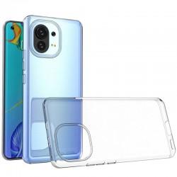 Coque silicone souple transparente pour Xiaomi Mi 11