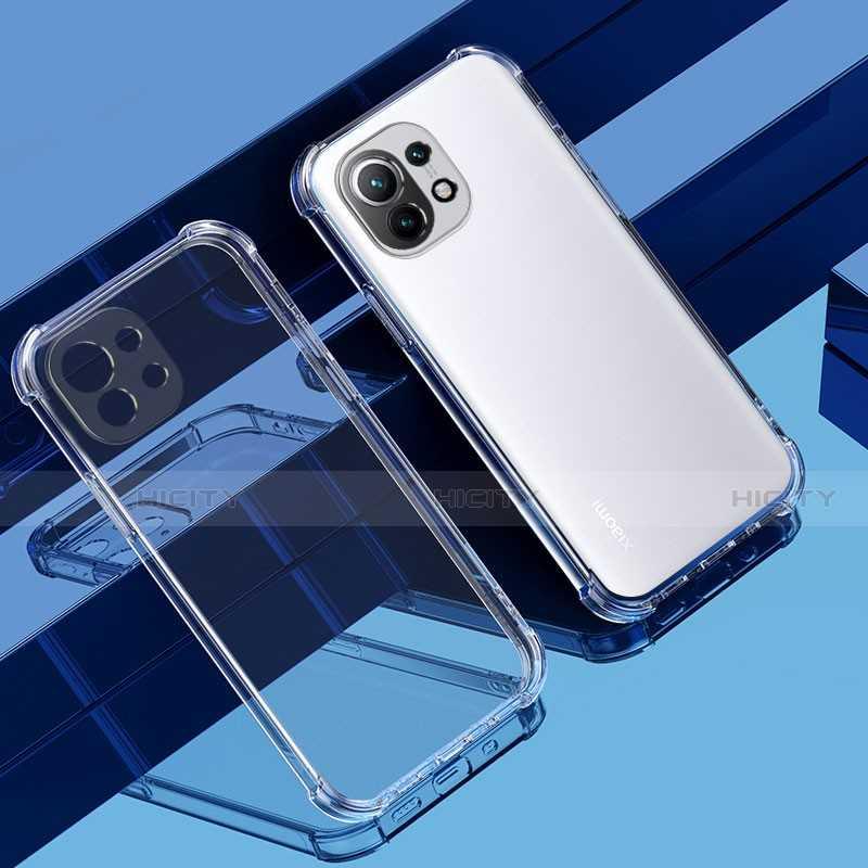 Coque silicone souple transparente pour Xiaomi Mi 11 Ultra