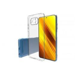 Coque silicone souple transparente pour Xiaomi Poco X3