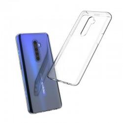 Coque silicone souple transparente pour Oppo Reno 2Z