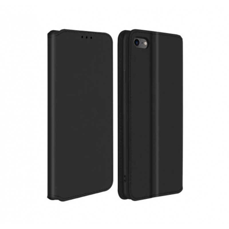 Etui portefeuille noir pour iPhone 6+/ 6+S