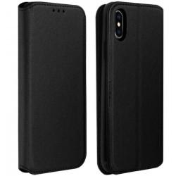 Etui portefeuille noir pour iPhone XS MAX