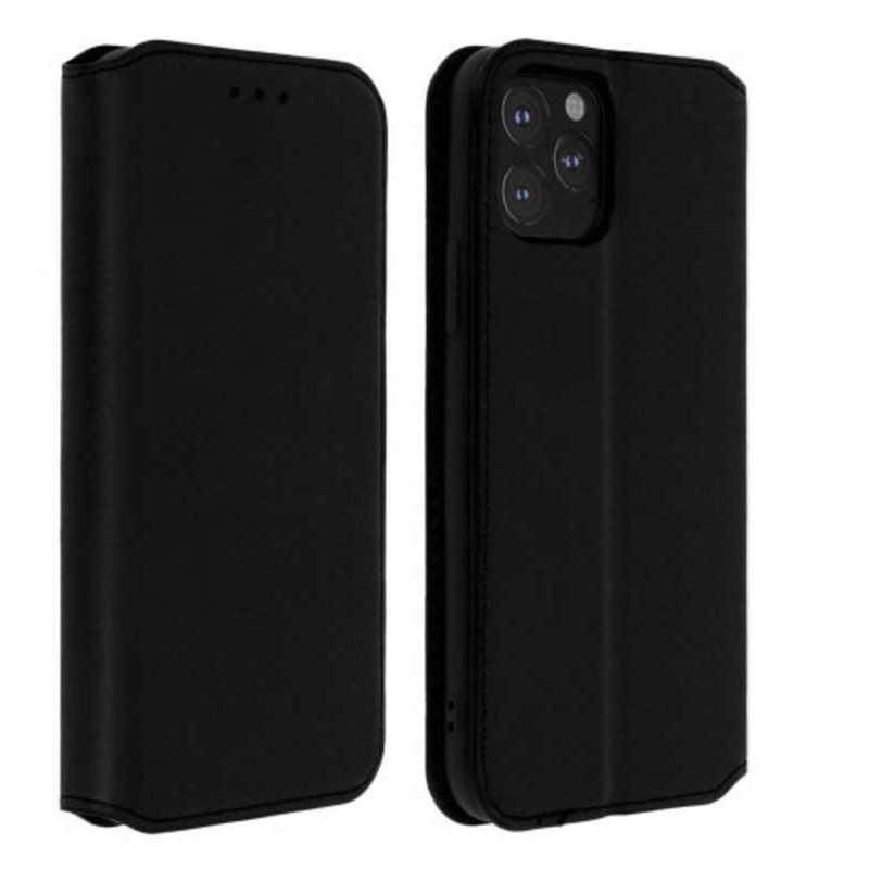 Etui portefeuille noir pour iPhone 12 pro Max