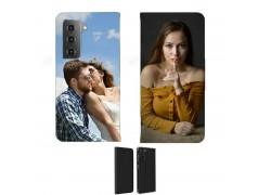 Etui personnalisé recto / verso pour Samsung Galaxy S21FE