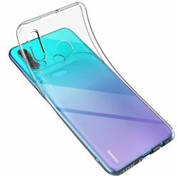 Coque silicone souple transparente pour Huawei P30 Lite
