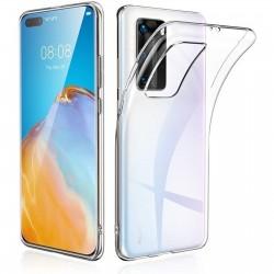 Coque silicone souple transparente pour Huawei 40 Pro