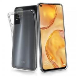 Coque silicone souple transparente pour Huawei P40 Lite