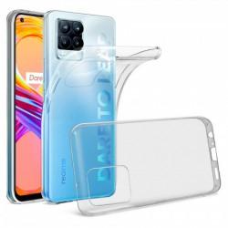 Coque silicone souple transparente pour Realme 8