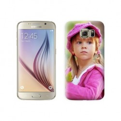 Coque souple en gel à personnaliser Samsung Galaxy S6 avec photo