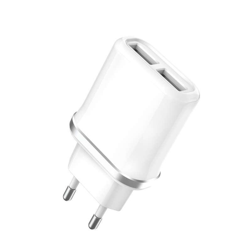Chargeur rapide double USB 2,1A de la marque XO