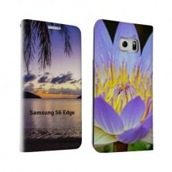 Etui personnalisé recto / verso pour Samsung Galaxy S6 Edge Plus