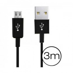 Câble 3 mètres micro USB