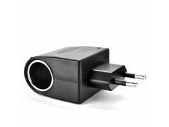 Adaptateur chargeur 220 volts - 12 volts allume cigare