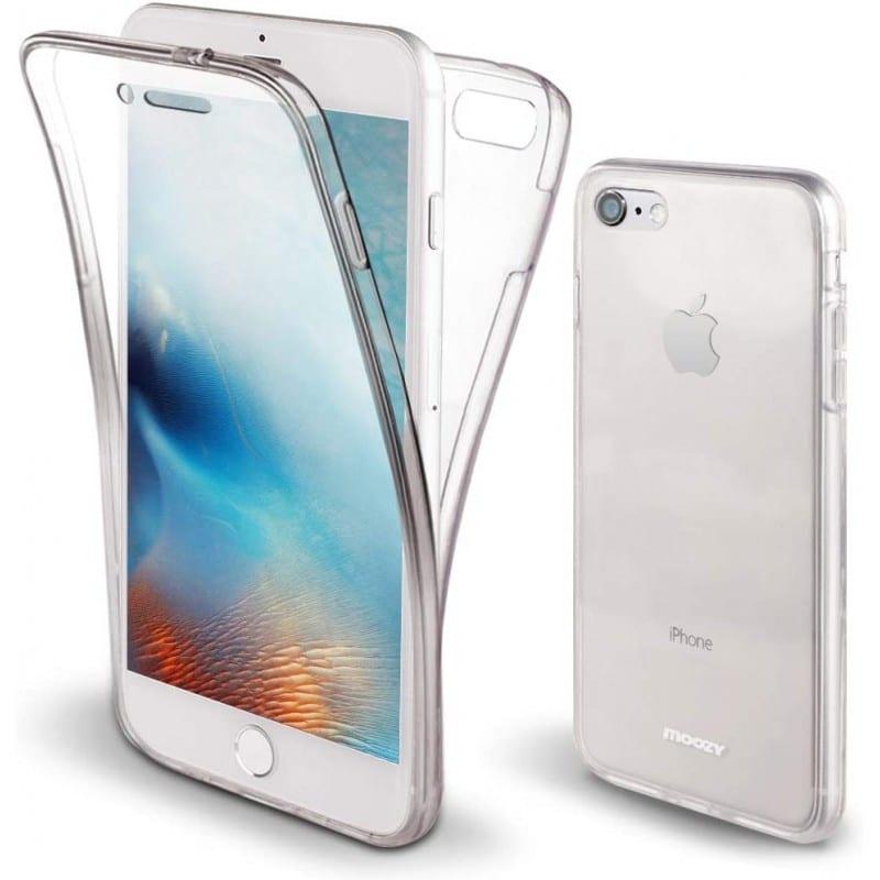 Coque intégrale 360 pour iPhone 7/8 protection avant arrière
