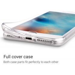 Coque 360 pour iPhone 7 plus /8 plus protection avant arrière