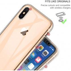 Coque intégrale pour iPhone X protection avant arrière