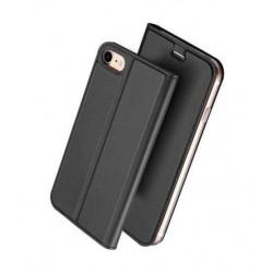 Etui portefeuille noir pour iPhone 8