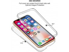Coque intégrale 360 pour iPhone X protection