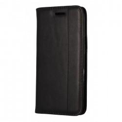 Etui portefeuille noir pour Samsung S6 Edge Plus