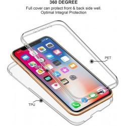 Coque intégrale 360 pour iPhone XS MAX protection avant arrière