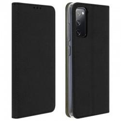 Etui portefeuille noir pour Samsung S20+