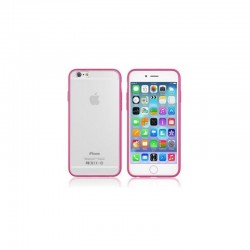 Coque Bumper rose pour iPhone 6+ / 6S+