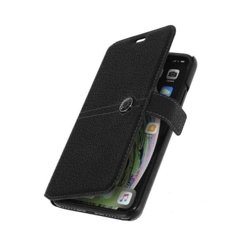 Etui FACONNABLE noir pour iPhone 5/ 5S /SE